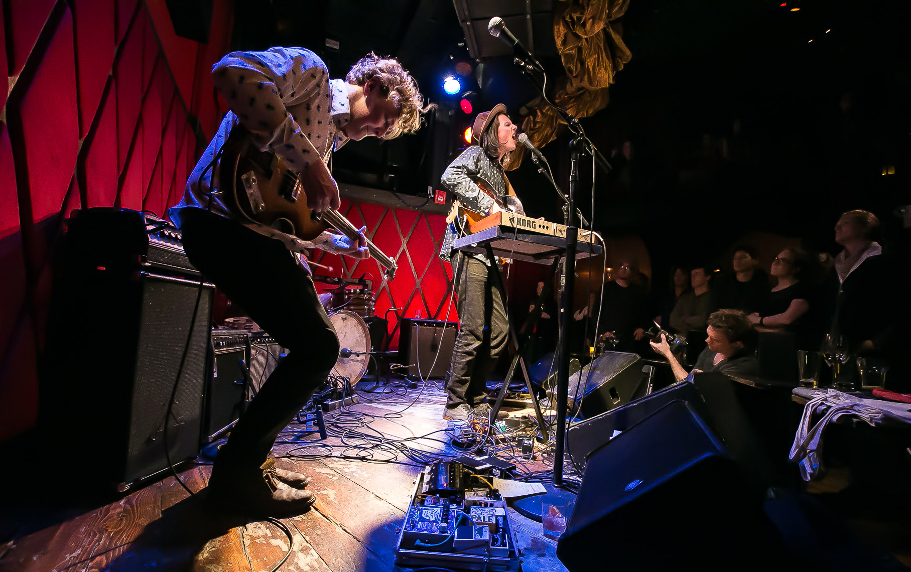 Wake Owl at Rockwood Music Hall by music photographer Deborah Lowery