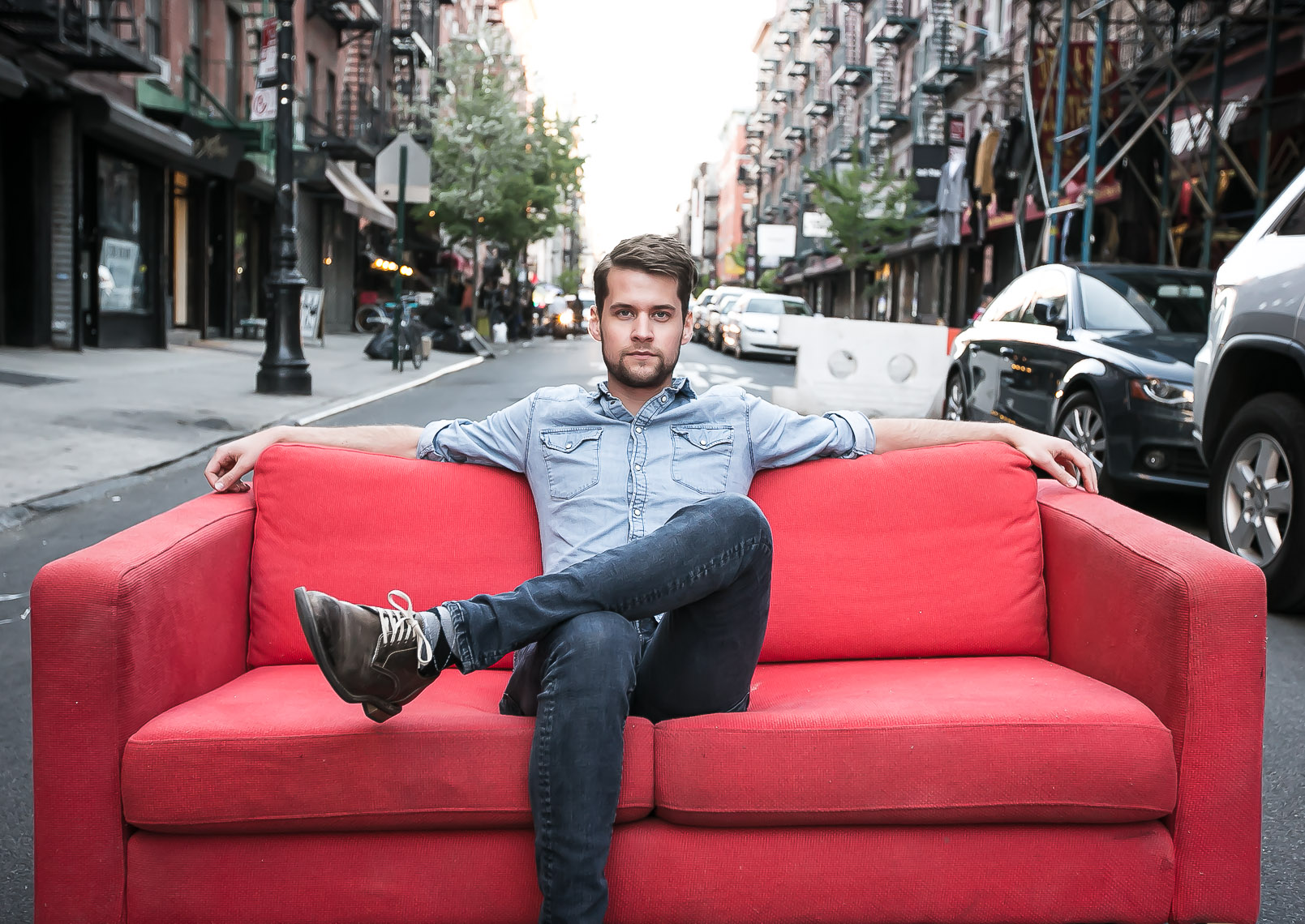 Matt Hires by music portrait photographer Deborah Lowery