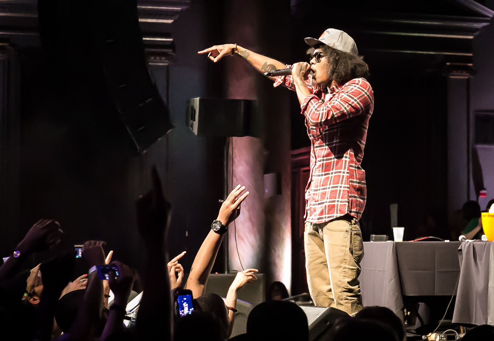 Ab-Soul with Black Hippy by music photographer Deborah Lowery
