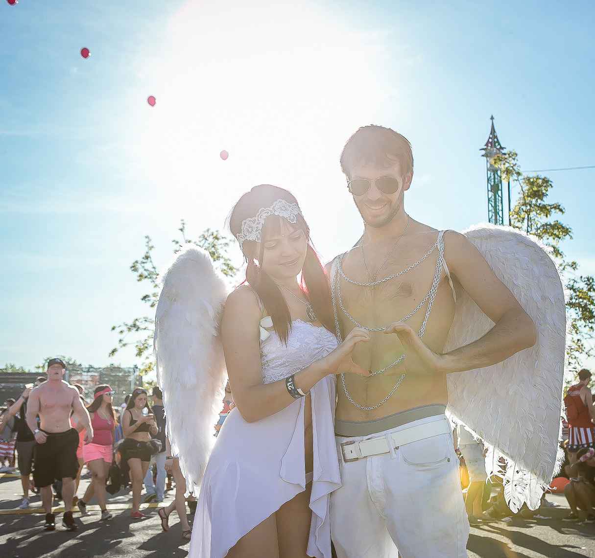 Electric Daisy Carnival by lifestyle and event photographer Deborah Lowery