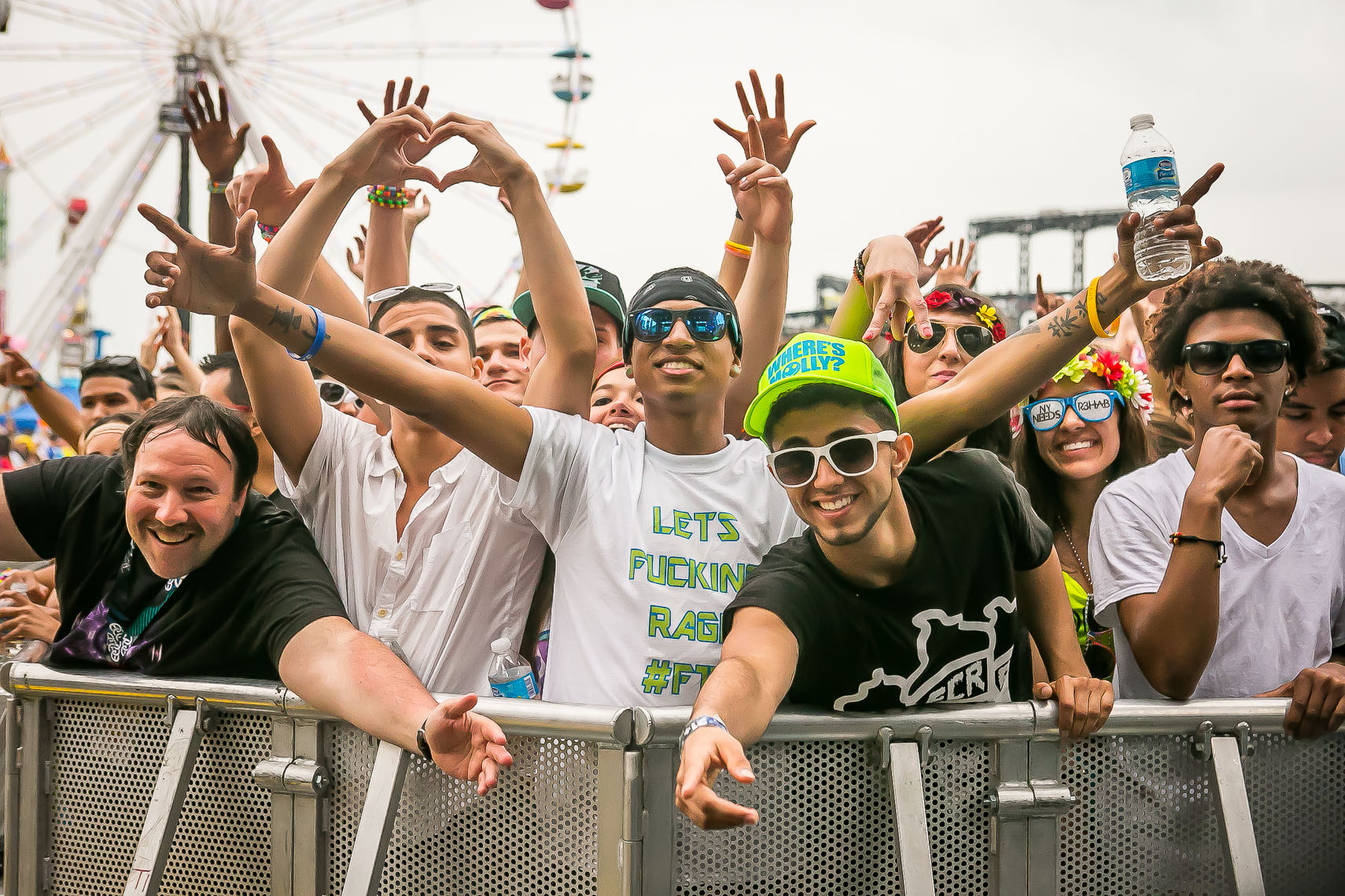 Electric Daisy Festival by lifestyle and event photographer Deborah Lowery