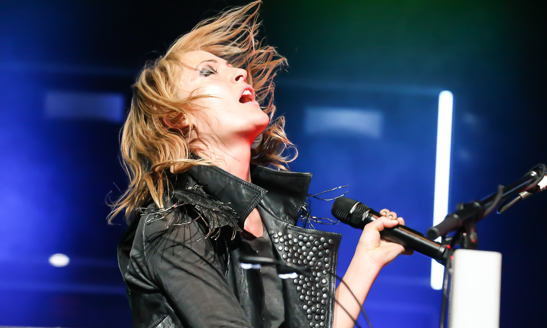Emily Haines by music photographer Deborah Lowery